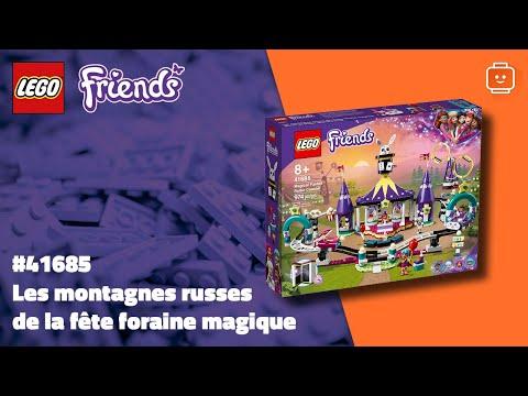 Vidéo LEGO Friends 41685 : Les montagnes russes de la fête foraine magique