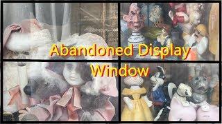 Abandoned Storefront - Window Display Left Since Christmas 1993