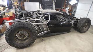 Exocage Body Is Complete on the Off-Road Lamborghini Huracan
