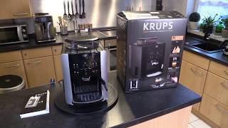 Krups EA8118 Arabica Picto Quattro Force Kaffeevollautomat - Test