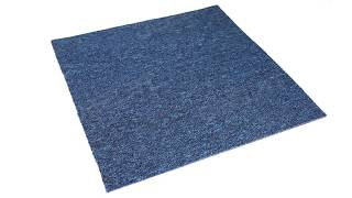 Navy Blue Carpet Tile - Qty. 32 pcs