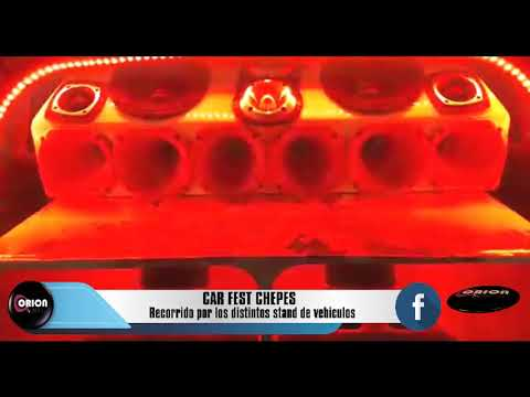 Car Fest Chepes:  Sintesis del evento realizado en el predio del ferro carril este domingo.