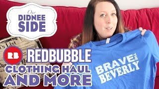 COLLECTIVE REDBUBBLE HAUL - Disney T-Shirts And More! | Our Didnee Side