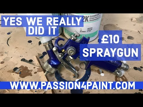 £10 AMAZON Budget Smart Repair Spraygun REVIEW – YES WE REALLY DID IT