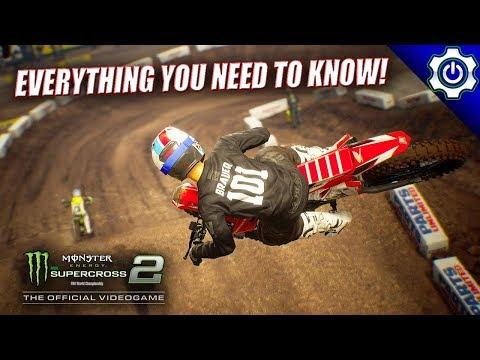 Gameplay de Monster Energy Supercross 2
