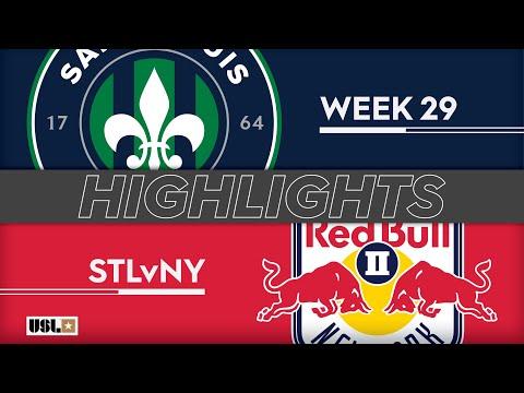 Saint Louis FC - Нью-Йорк Ред Буллз-2 2:0. Видеообзор матча 19.09.2019. Видео голов и опасных моментов игры