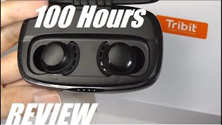 REVIEW: Tribit FlyBuds 3, 100Hr Battery Budget TWS Wireless Earbuds! (Power Bank)