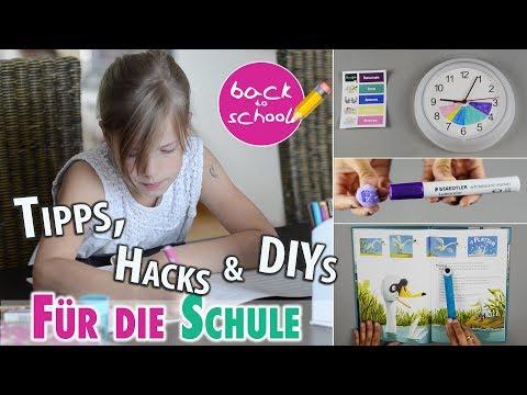 11 Tipps, Hacks & DIYs für Schule und Kindergarten | Back To School | mamiblock