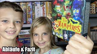 The Vampires (Jumbo) ... ab 6 Jahre ... Das Vampir Kartenspiel ist wohl eher was für Familien