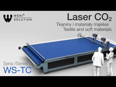 Nowość Weni Solution ! Laser CO2 Seria WS-TC | Grawerowanie i cięcie tekstylii i materiałów miękkich - zdjęcie