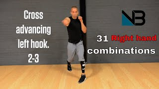 31 Lead Right Hand Combos | With Voice Over by NateBowerFitness