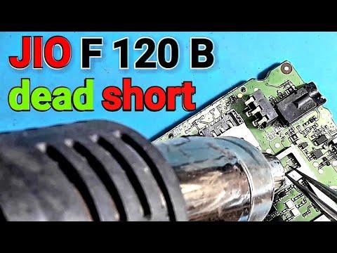 Lyf jio phone f 120 b dead short problem solution // - Thủ