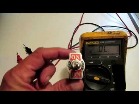 Use A Multimeter To Check A Switch
