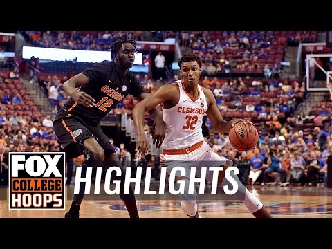 Florida vs Clemson | Highlights | FOX COLLEGE HOOPS