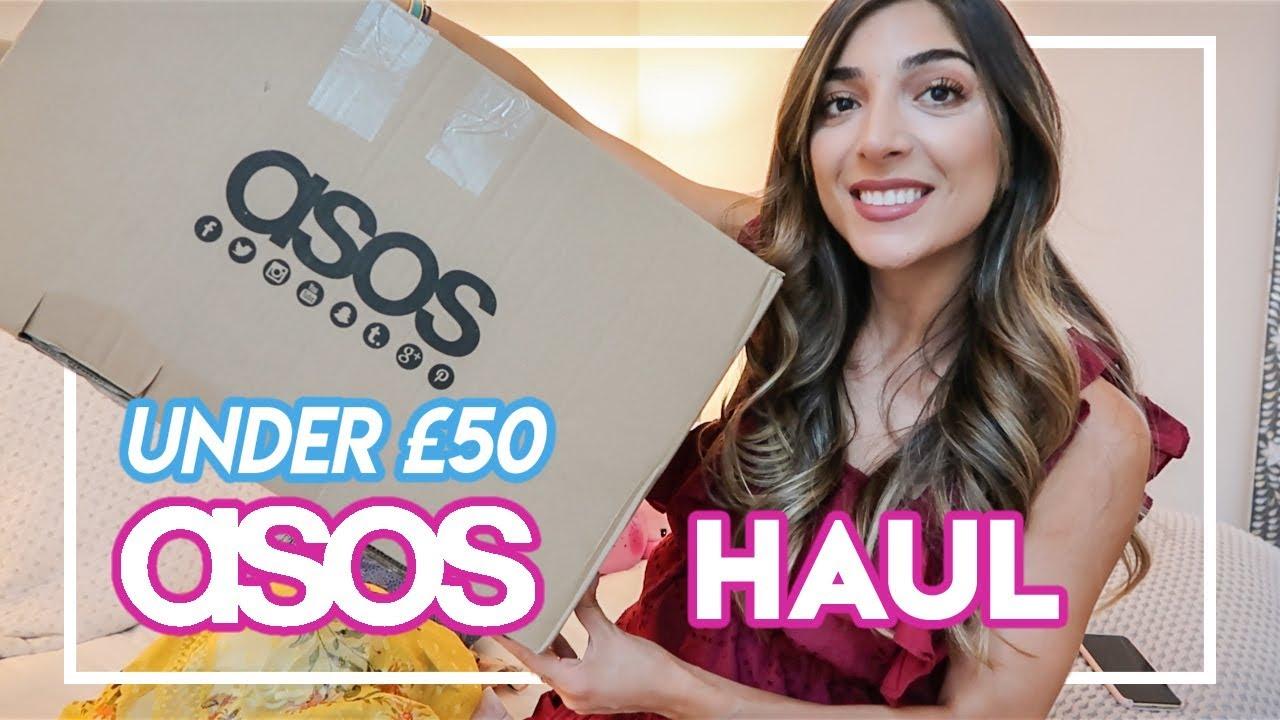 UNDER £50 ASOS HAUL!   Amelia Liana