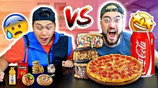 GIANT FOOD vs. TINY FOOD CHALLENGE !! *EATING THE SMALLEST FOODS in the WORLD*