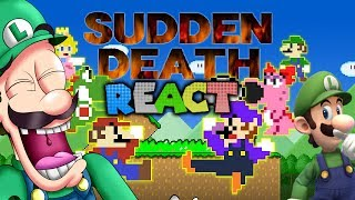 Gambar cover LUIGIKID REACTS TO: SUDDEN DEATH MAYHEM, MARIO'S WORLD 1-1 CALAMITY & SUPER RANDOM BROS. by Level UP