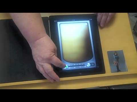 Screenshot of video: I pad and Visual impairment