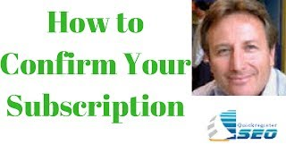 How to Confirm Your Subscription to The Free Ad Forum Classifieds Newsletter
