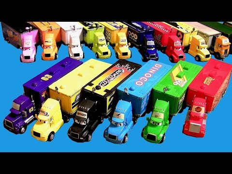 20 Cars Trucks Haulers Complete Collection