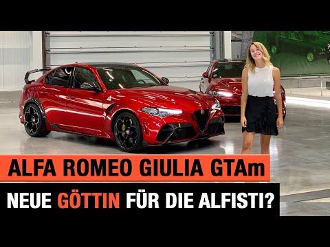 Alfa Romeo Giulia GTAm (2020) ☘️♥️🇮🇹 Neue Göttin für die Alfisti? Review | Test | Sound | GTA 🏁