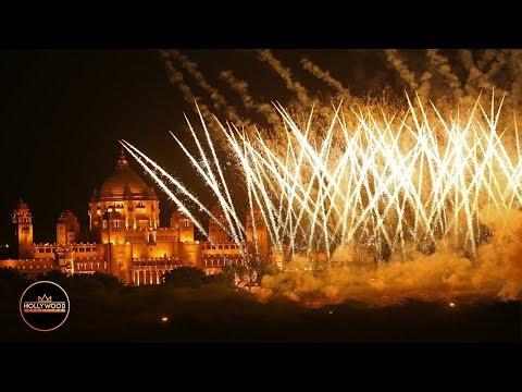 Watch Nick Jonas and Priyanka Chopra's Insane Wedding Fireworks Show
