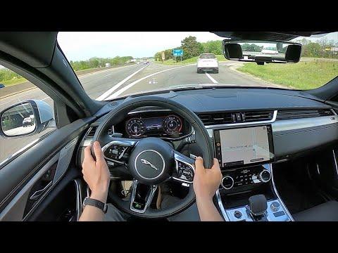 2021 Jaguar XF P300 R-Dynamic SE - POV First Drive (Binaural Audio)