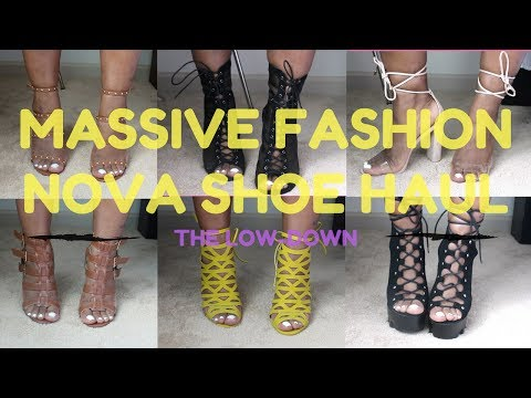 Fashion Nova Shoe Try On Haul 2017