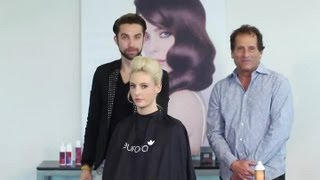 How to Do Pompadour Hair for Women : Hair Styling Techniques