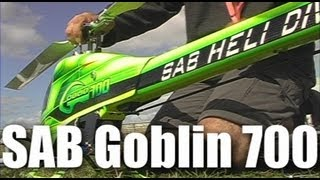 Goblin 700 RC helicopter