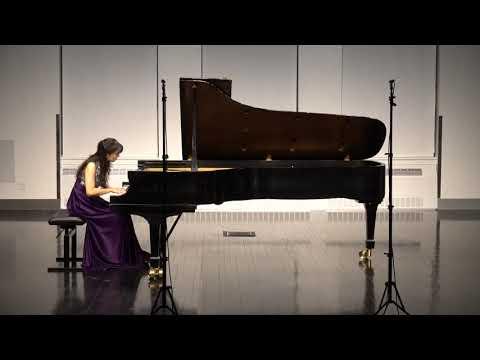 Jingci Liu plays Schumann Faschingsschwank aus Wien, Op 26 (Vienna Festival)