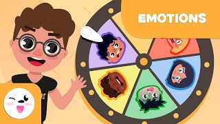 Emotions for Kids - Happiness, Sadness, Fear, Anger, Disgust and Surprise