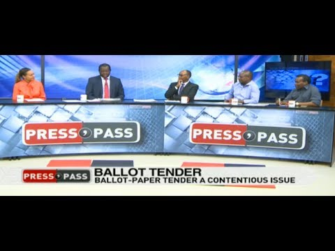 IEBC ballot paper tender a contentious issue - Press Pass