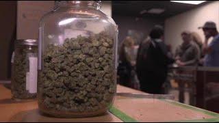 Video: Legal marijuana off to blazing start in California