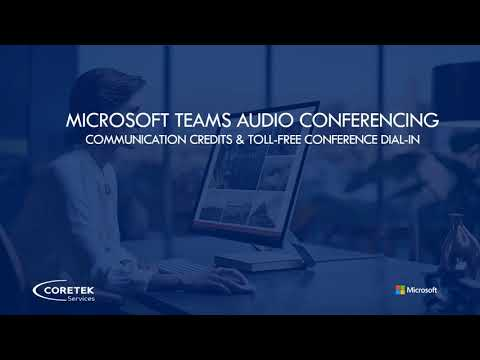 Audio Conferencing & Communication Credits in Microsoft Teams