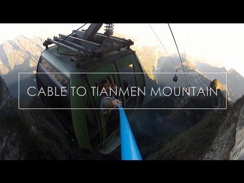 Cable Car To Tianmen Mountain
