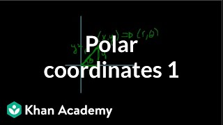 Polar coordinates 1 | Parametric equations and polar coordinates | Precalculus | Khan Academy