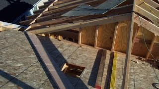Two Different Examples For Installing Home Addition Roof Sheathing – Soffit and Exposed Rafter Eaves