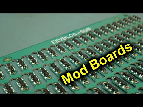 EEVblog #1158 - How To Create PCB Mod Boards