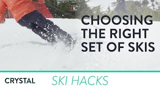 How to pick the right skis for you | Crystal Ski Holidays