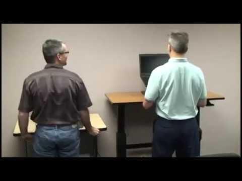Mesa Trabajar de pie | Ergotron WorkFit Vs Electrico Escritorio