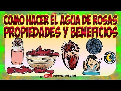 Como Hacer Agua de Rosas | 10 Propiedades y Beneficios del Agua de Rosas Usos