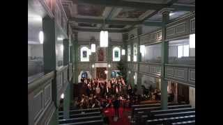 preview picture of video 'Gelobet sei der Herr, mein Gott, mein Licht BWV 129 Johann Sebastian Bach'
