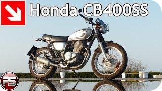 Honda CB400SS: идеальный горожанин