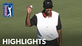 Tiger Woods' 1st PGA TOUR win | Extended Highlights | Shriners 1996