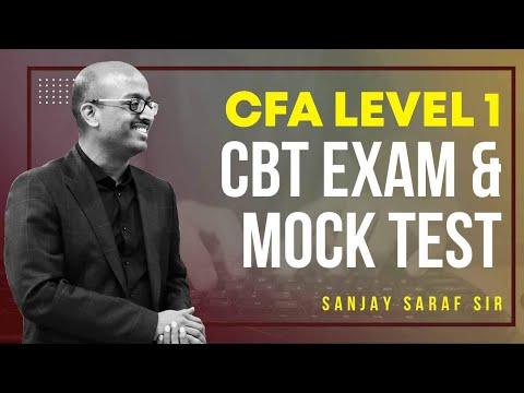 CFA Level 1 Exam New CBT Format Explained   Mock Test   SSEI ...