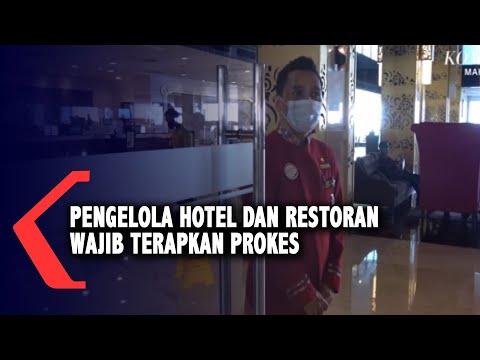 pengelola hotel dan restoran wajib terapkan prokes