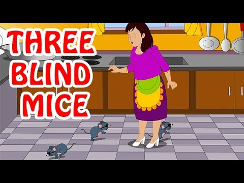 Three Blind Mice | Animated Nursery Rhyme In English Mp3