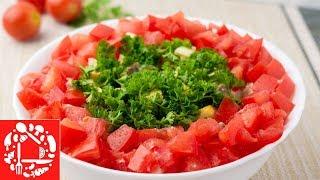 Обалденно простой салат с сердечками! 😍 Ну Очень Вкусно и Просто!