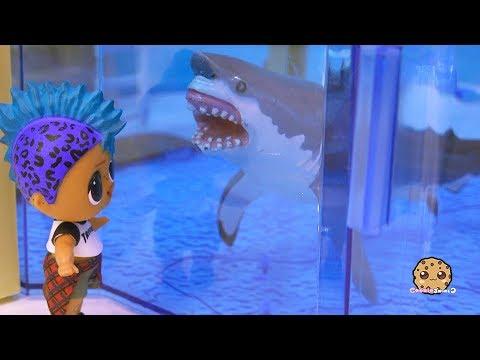 Great White Shark At Aquarium Lol Surprise Punk Boi Summer